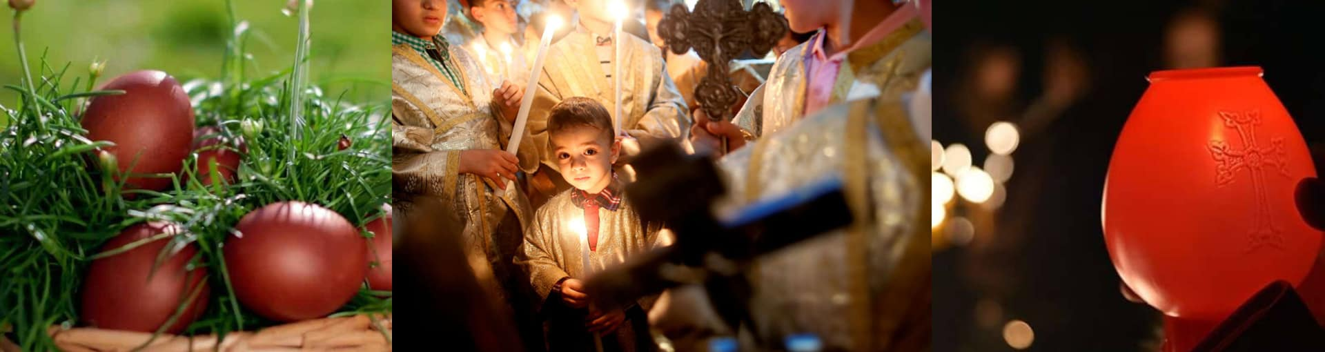How do Armenians celebrate Easter?