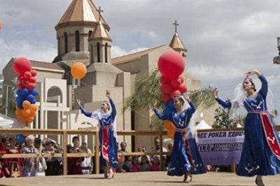 Самые популярные фестивали в Армении