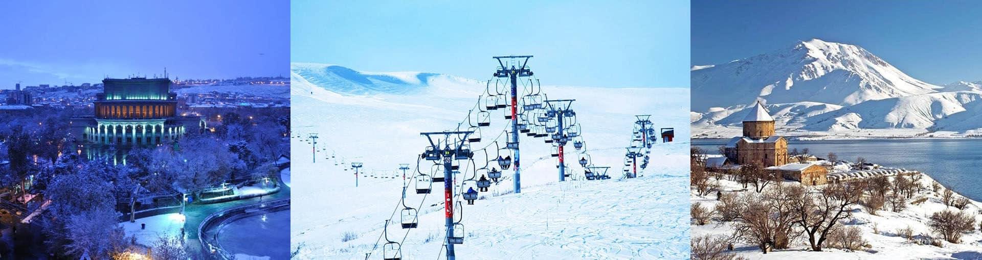 5 уникальных зимних приключений в Армении
