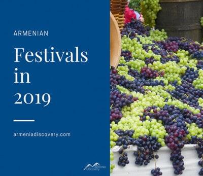 Armenian festivals in 2019