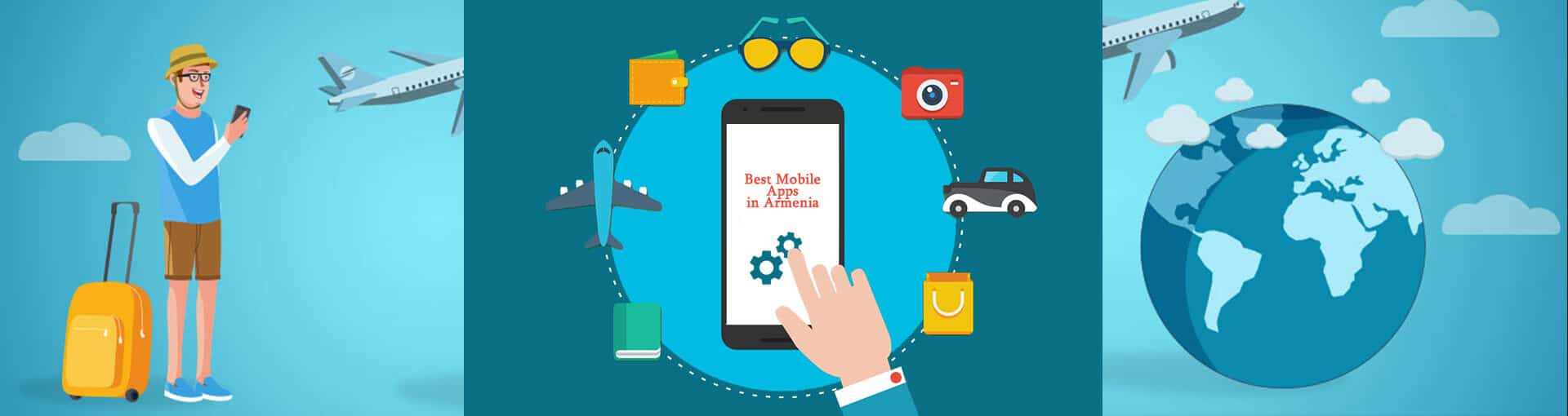 Best mobile apps for traveling in Armenia