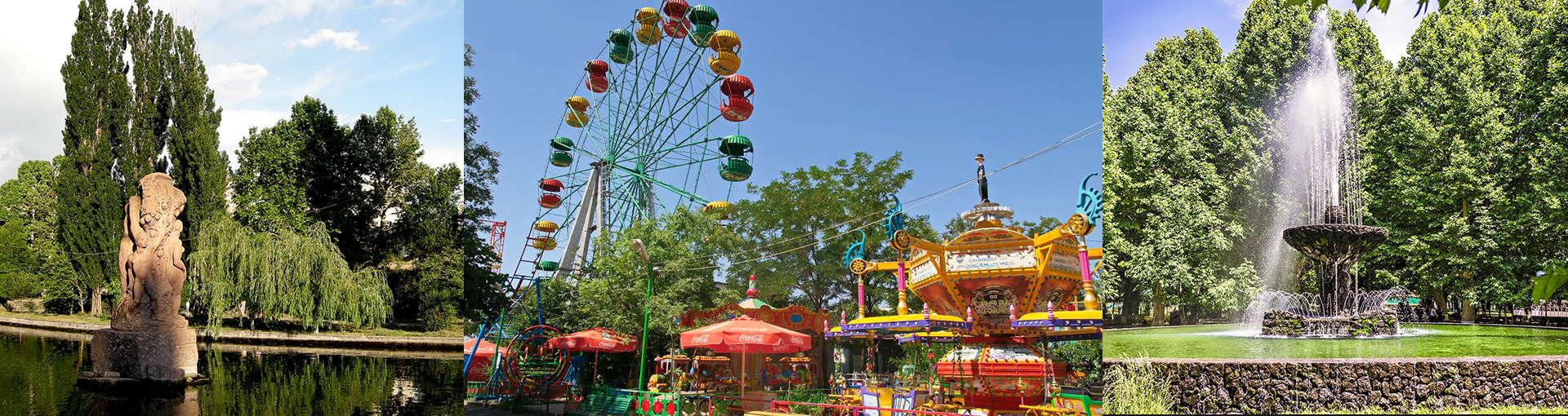 Лучшие парки Еревана