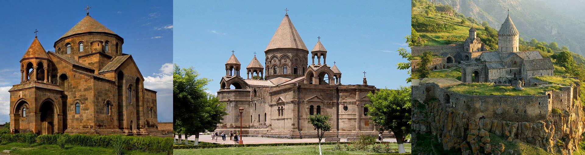 Старые Церкви в Армении