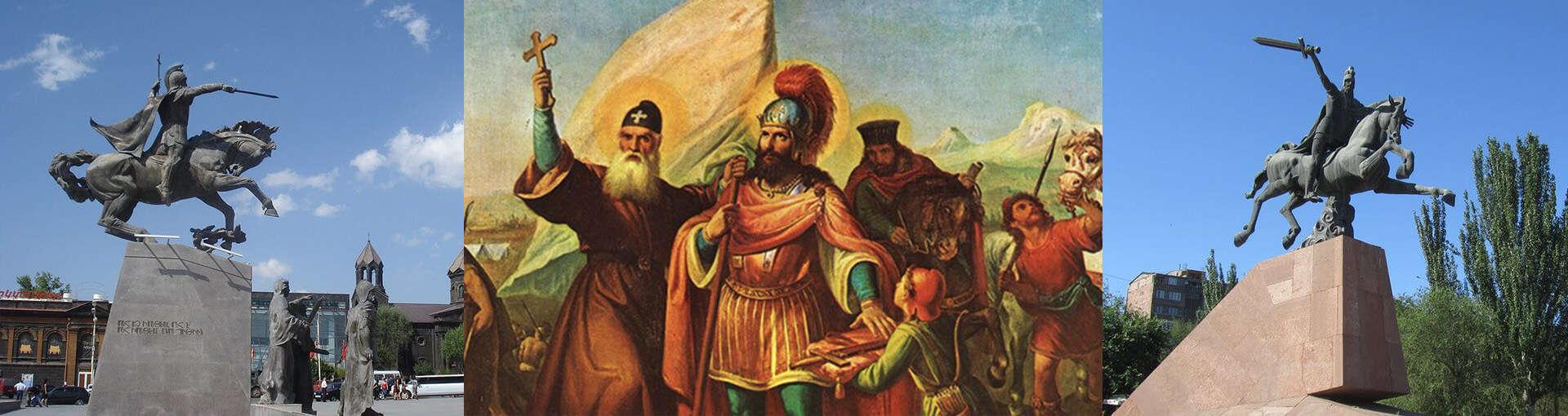 Vardan Mamikonyan - The hero of Avarayr Battle