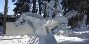 Snowman - Snow Art Festival