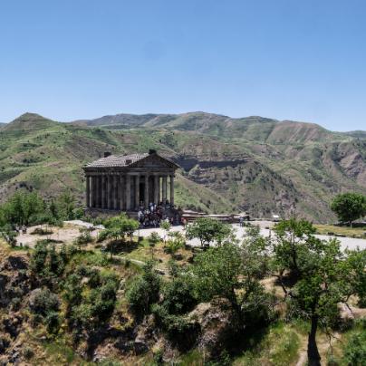 Geghard Monastery-Garni Temple