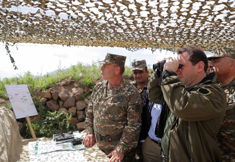 Defense Minister of Armenia
