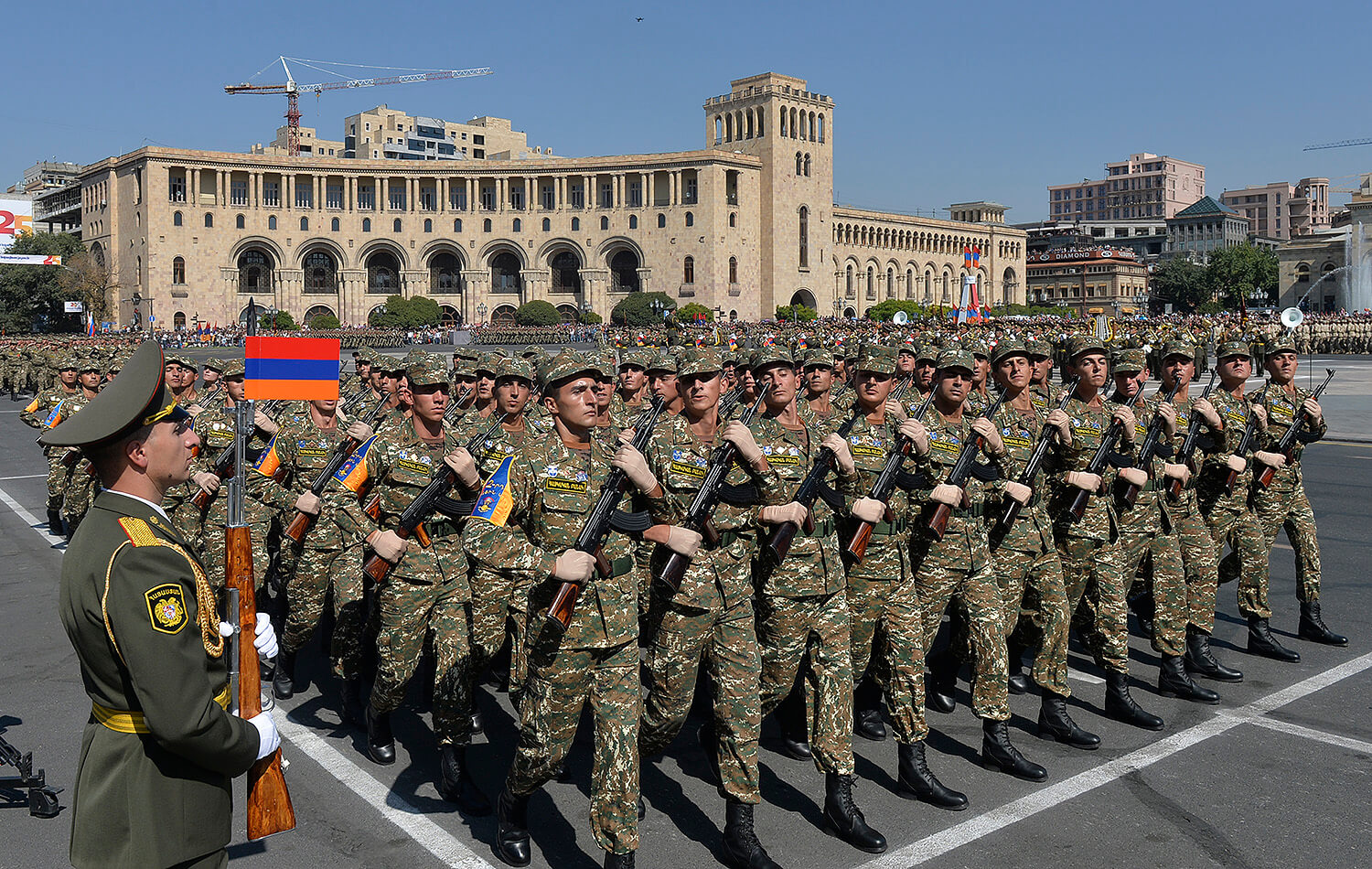 The structure of the Armenian army