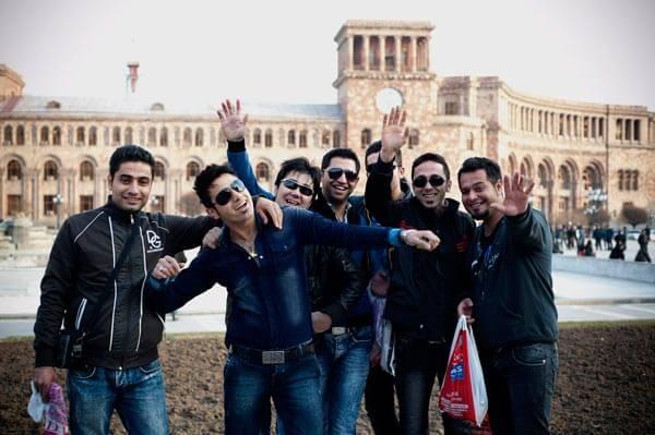 Iranian tourists in Armenia