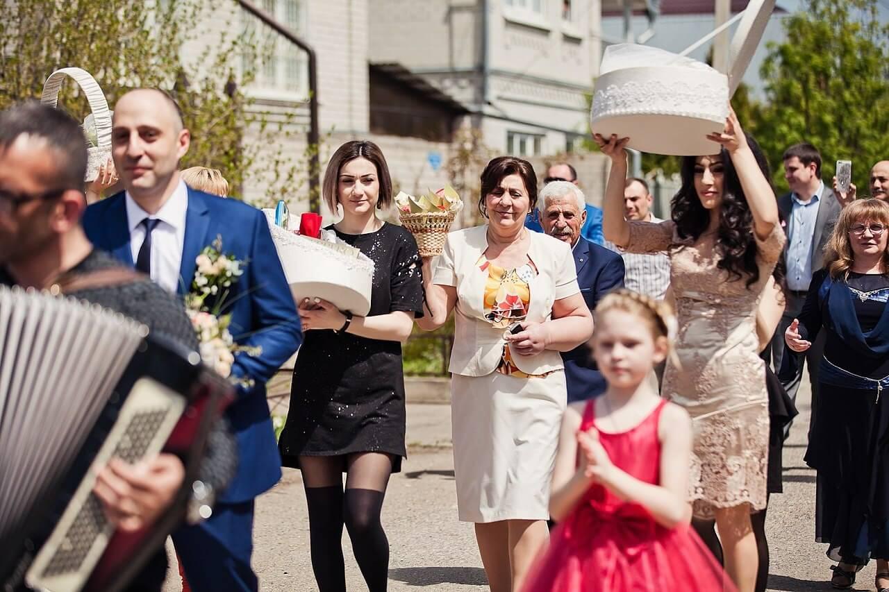 Traditional Armenian wedding
