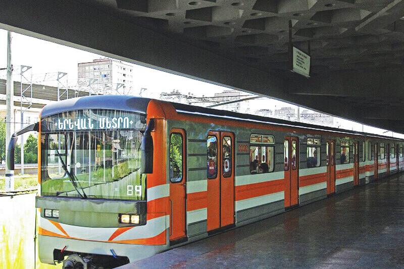 Yerevan Metro Stations- Sasuntsi Davit