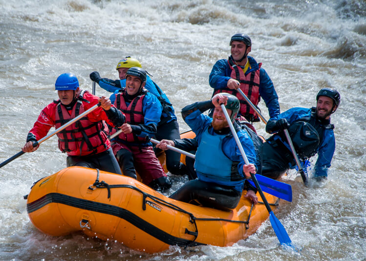 Rafting in Dzoraget