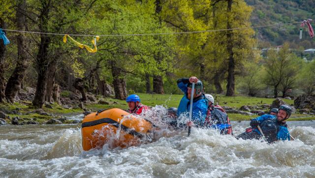 Rafting in Debed