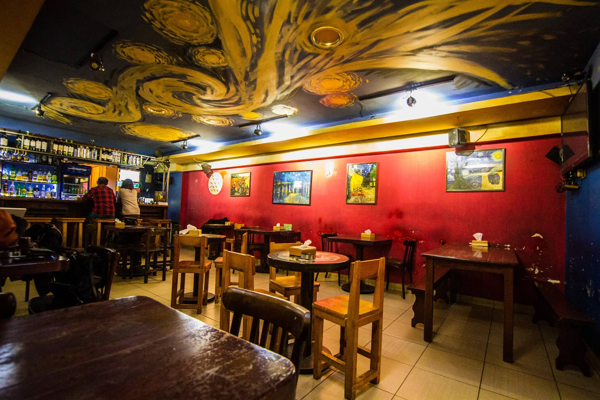 Top Art Places #7 Van Gogh Art Cafe