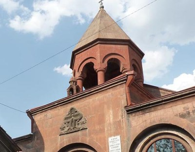 Zoravor Surb Astvatsatsin Church