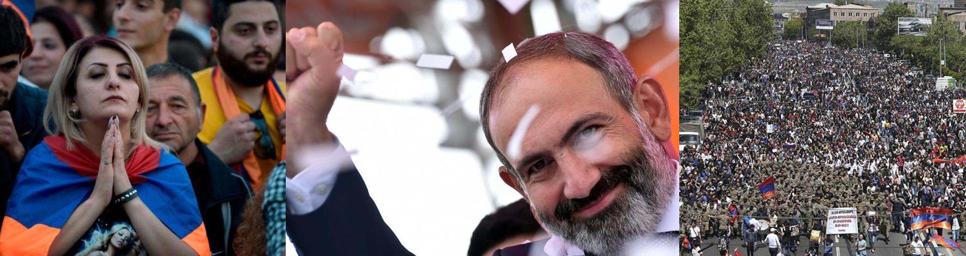 Armenia's Velvet Revolution:  Symbols and Memorable moments