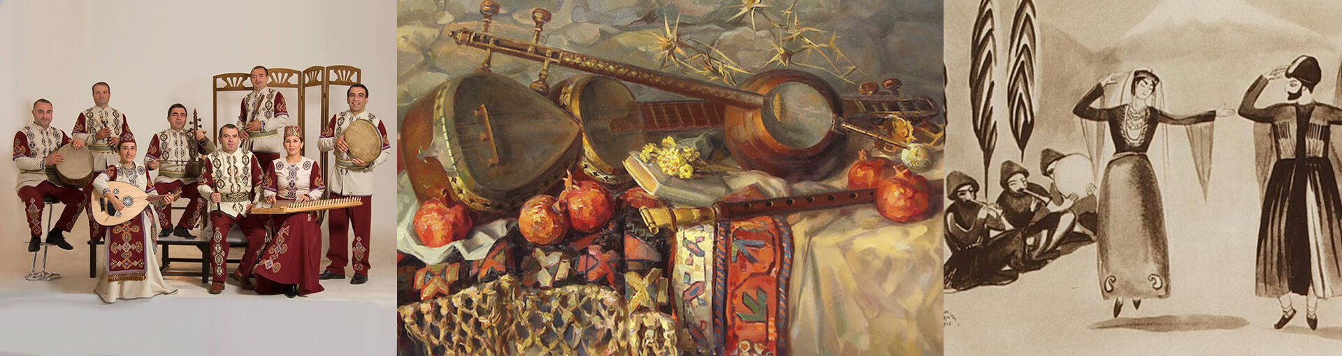 The Armenian music