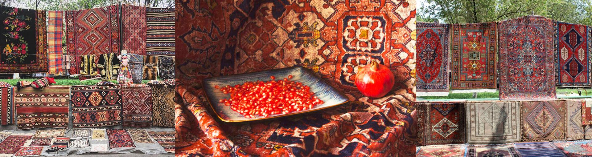 Изготовление армянских ковров
