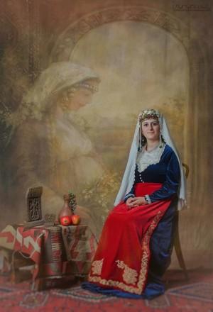 Армянский национальный костюм ТАРАЗ