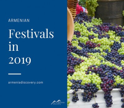 Armenian festivals in 2019
