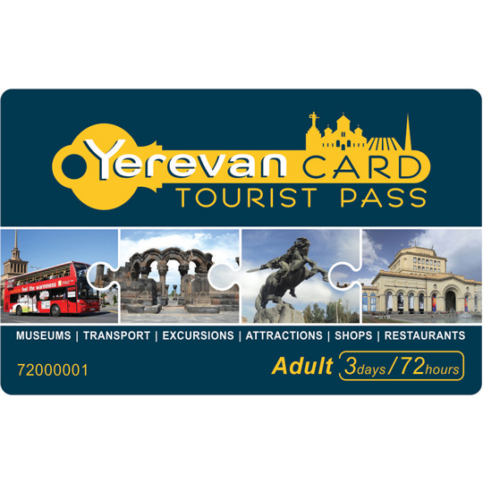 Yerevan Card 72h